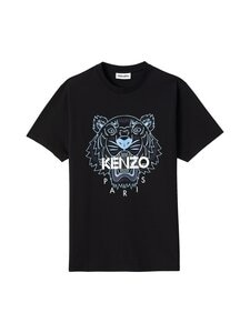 Kenzo - Tiger Classic T-Shirt -paita - 99 - SINGLE JERSEY CLASSIC TIGER - BLACK | Stockmann