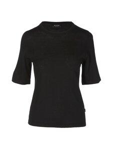 SAND Copenhagen - Fellini T-Shirt -merinovillaneule - 200 BLACK | Stockmann
