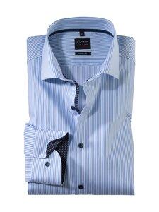 Olymp - Stripes Details Cuff Royal Kent -kauluspaita - 11 BLUE | Stockmann