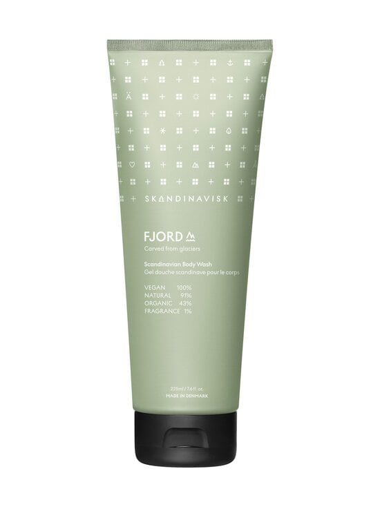 Skandinavisk - FJORD Body Wash -suihkugeeli 225 ml - FJORD GREEN | Stockmann - photo 1
