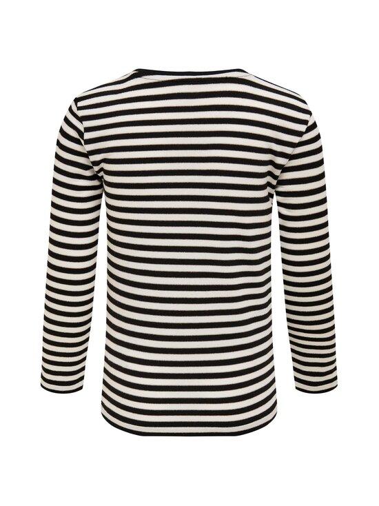 KIDS ONLY - Lin T-shirt -paita - BLACK STRIPES:CLOUD DANCER/FROSTED ALMOND LUREX   Stockmann - photo 2