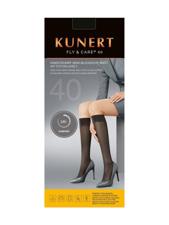Kunert - Fly & Care -lentosukat 40 den - 0540 CASHMERE | Stockmann - photo 2