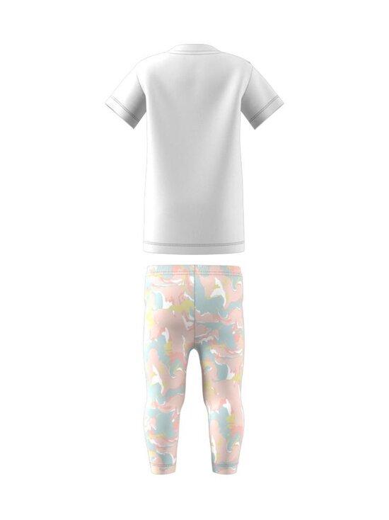 adidas Originals - TEE DRESS SET -legginsit ja T-paita - WHITE | Stockmann - photo 2
