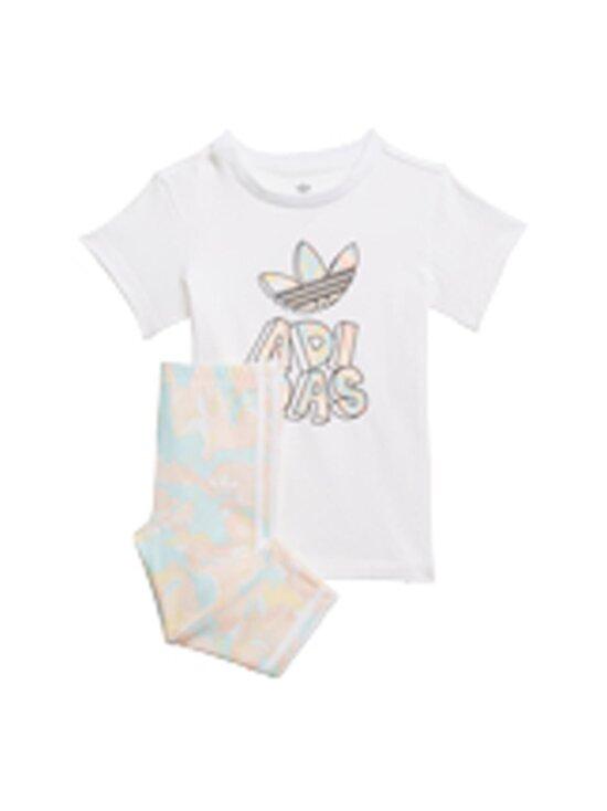 adidas Originals - TEE DRESS SET -legginsit ja T-paita - WHITE | Stockmann - photo 3