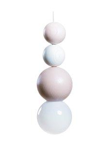 QUU Design - Large RWR -riippuvalaisin 9,5 x 25 cm - ROSE/WHITE | Stockmann