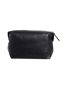 Superdry - Vermont Leather Washbag -toilettilaukku - null | Stockmann