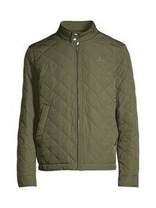 GANT - Quilted Windcheater -takki - 372 DARK LEAF | Stockmann