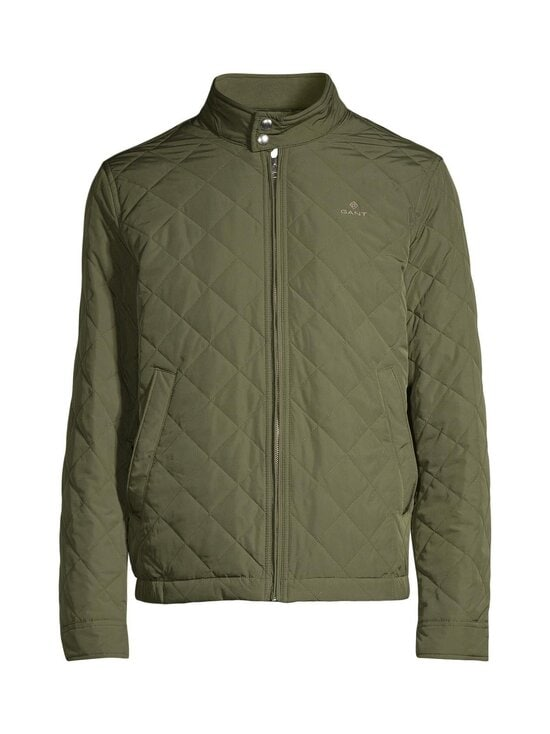 GANT - Quilted Windcheater -takki - 372 DARK LEAF | Stockmann - photo 1