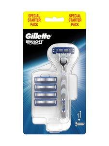 Gillette - Mach3 Turbo -partahöylä ja 5 vaihtoterää | Stockmann