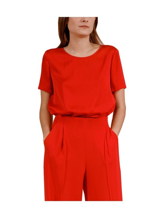 Andiata - Bloomie-silkkipusero - 014 RED | Stockmann - photo 1