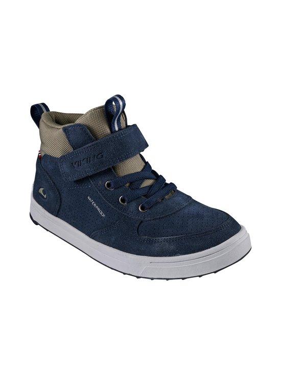 Viking - Samuel Mid WP JR -kengät - 537 NAVY/ OLIVE | Stockmann - photo 1