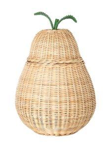 Ferm Living - Pear Braided Storage -kori - NATURAL | Stockmann
