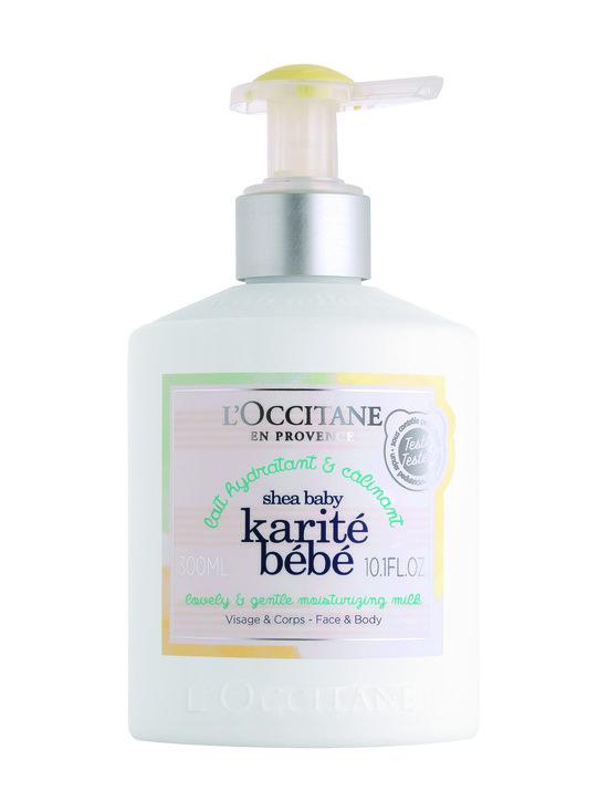 Loccitane - L'Occitane Shea Baby Moisturising Milk -kosteusvoide 300 ml - NO COLOR | Stockmann - photo 1