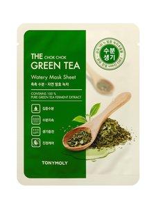 TONYMOLY - The Chock Chok Green Tea Watery Mask Sheet -kangasnaamio 28 g | Stockmann