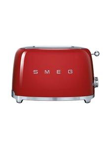 Smeg - TSF01RDEU-leivänpaahdin, 2 viipaleelle - PUNAINEN | Stockmann