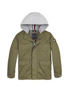 Tommy Hilfiger - Cotton Field Jacket -takki - MSQ OLIVE TREE | Stockmann