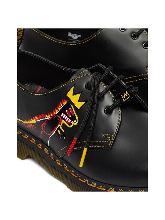 Dr. Martens - 1461 Basquiat -kengät - BLACK BLACK | Stockmann - photo 4