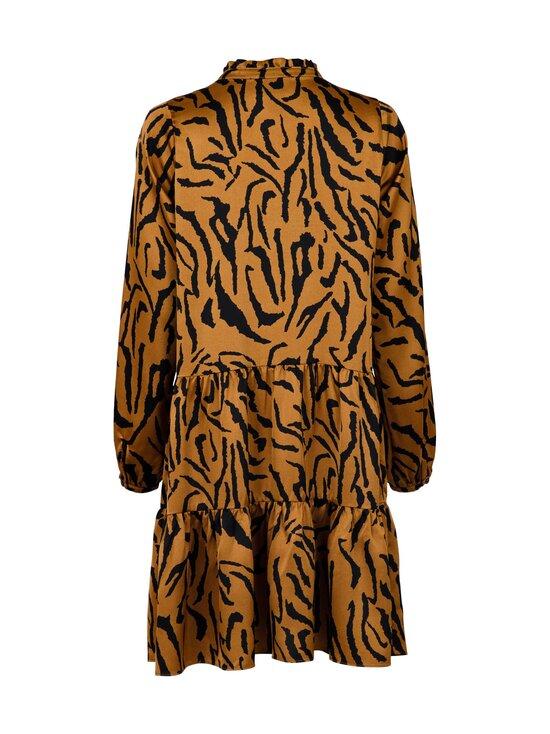 Neo Noir - Federica Satin Zebra Dress -mekko - 210 BROWN   Stockmann - photo 2