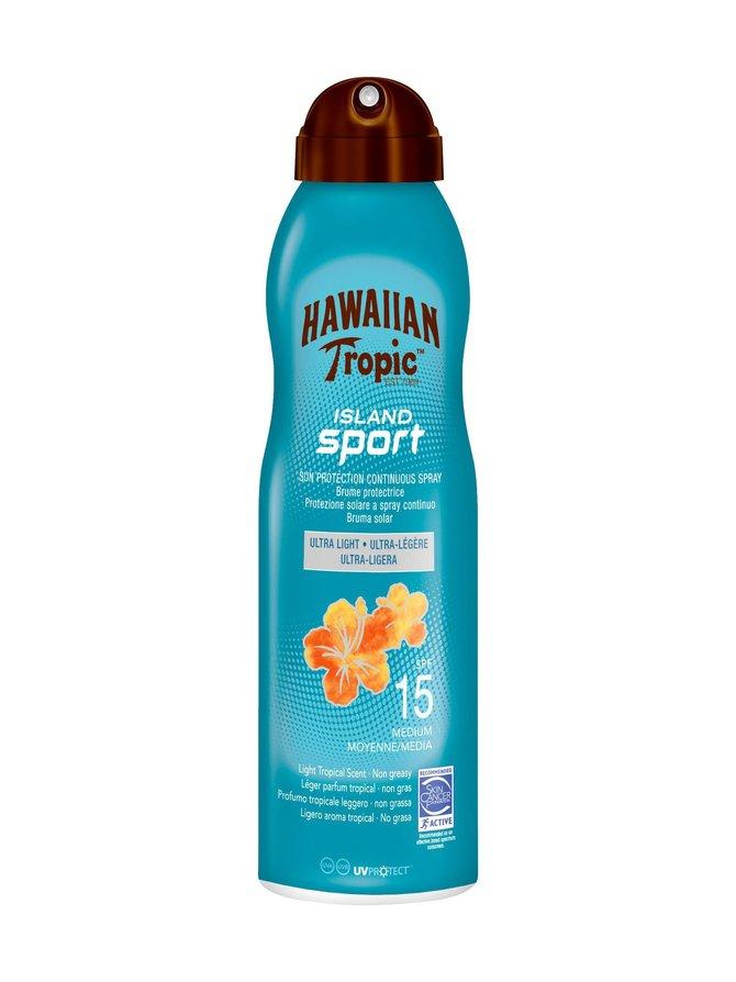Hawaiian Island Sport SPF 15 -aurinkosuojavoide 220 ml