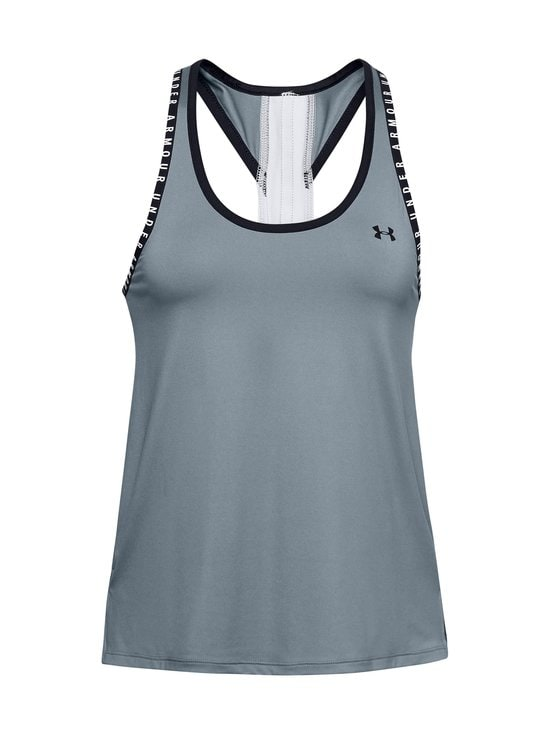 Under Armour - Knockout Tank -treenitoppi - 396 HUSHED TURQUOISE | Stockmann - photo 1