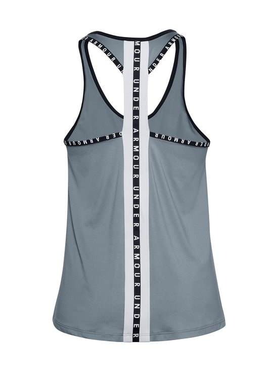 Under Armour - Knockout Tank -treenitoppi - 396 HUSHED TURQUOISE | Stockmann - photo 2