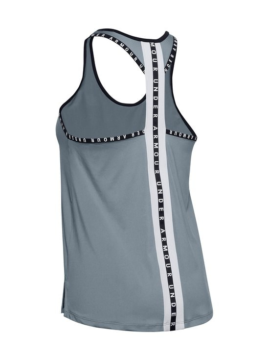 Under Armour - Knockout Tank -treenitoppi - 396 HUSHED TURQUOISE | Stockmann - photo 4