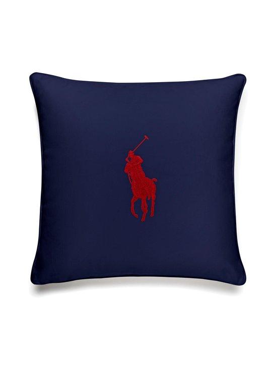 Ralph Lauren Home - Pony-tyynynpäällinen 50 x 50 cm - NAVY/RED | Stockmann - photo 1