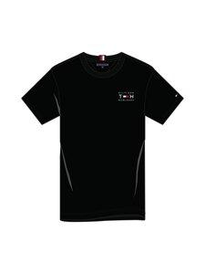 Tommy Hilfiger - Stretch Slim Corp Tee -paita - BDS BLACK | Stockmann