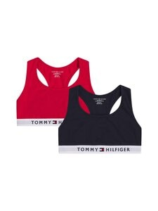 Tommy Hilfiger - Bralette-toppi 2-pack - 0WD PRIMARY RED/DESERT SKY | Stockmann