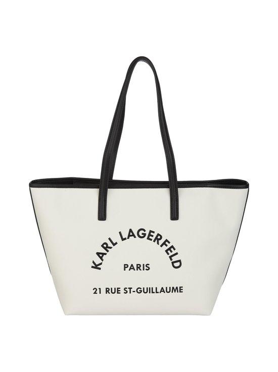 Karl Lagerfeld - Rue St-Guillaume Tote -nahkalaukku - WHITE A100   Stockmann - photo 1
