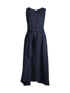 Deha - Belted Long Dress -pellavamekko - 18530 NIGHT BLUE | Stockmann