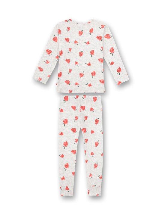 Sanetta - Strawberry Field -pyjama - 1988 LIGHT GREY | Stockmann - photo 2