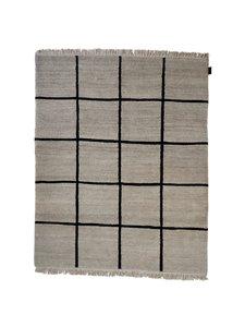 Sera Helsinki - Kuura-villamatto 100 x 200 cm - NATURAL WHITE/BLACK (LUONNONVALKOINEN/MUSTA) | Stockmann