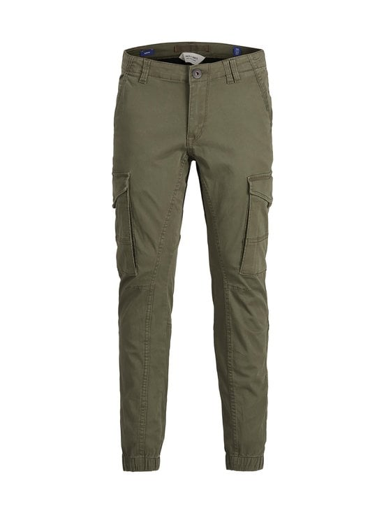 JACK & JONES junior - JjiPaul JjFlake -housut - OLIVE NIGHT | Stockmann - photo 1