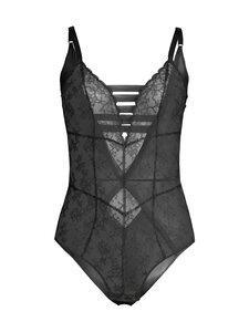 Chantal Thomass - Unveil Bodysuit -body - 011 BLACK | Stockmann