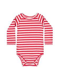 Metsola - RIB Striped -body - 251 RED - WHITE | Stockmann
