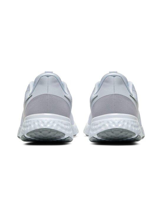 Nike - Revolution 5 -juoksukengät - 100 WHITE/WOLF GREY-PURE PLATINUM | Stockmann - photo 4