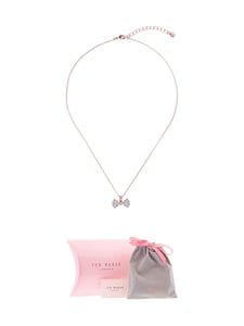 Ted Baker London - Brizla Crystal Bow -riipus - ROSE GOLD/CRYSTAL | Stockmann