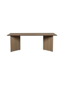 Ferm Living - Mingle-pöytälevy 210 x 90 cm - DARK VENEER | Stockmann