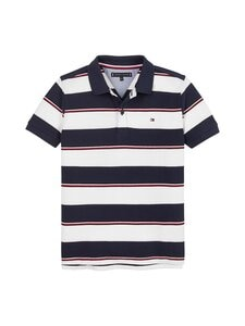 Tommy Hilfiger - Global Stripe Polo -paita - C87 TWILIGHT NAVY/ STRIPE | Stockmann