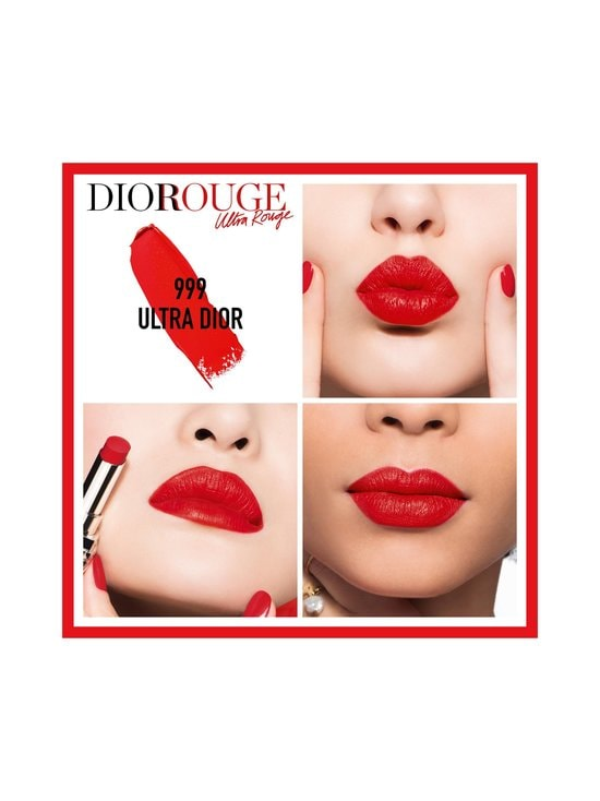 DIOR - Rouge Dior Ultra Rouge -huulipuna 3,2 g - 999 ULTRA DIOR | Stockmann - photo 2