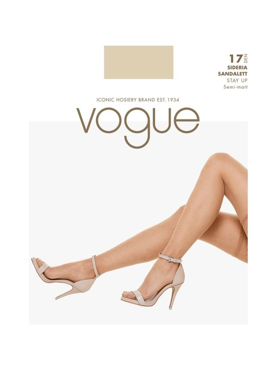 Vogue - Sideria Sandalett -stay-up-sukat 17 den - SUNTAN | Stockmann - photo 1