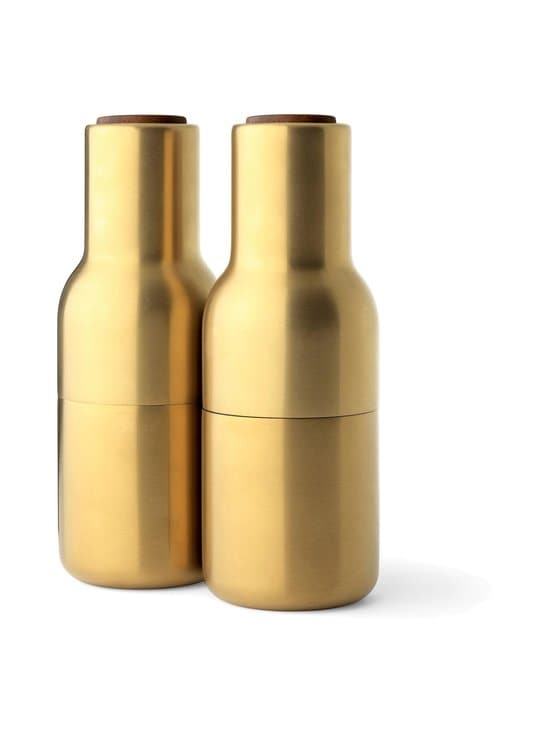 Menu - Bottle-maustemyllysetti - BRUSHED BRASS, WALNUT | Stockmann - photo 1