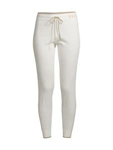 Deha - Cotton Knitted Pants -housut - 18001 WHITE | Stockmann