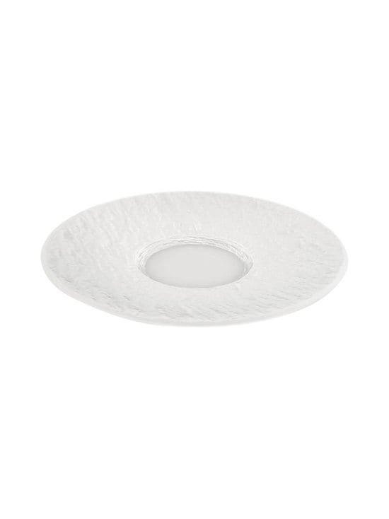 Villeroy & Boch - Manufacture Rock -kahvikupin aluslautanen 15,5 cm - WHITE | Stockmann - photo 1