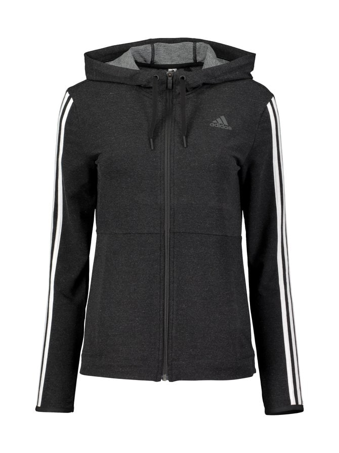 3-Stripes Full Zip Hoody -huppari