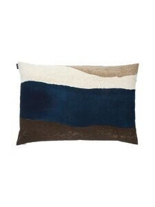 Marimekko - Joiku-tyynynpäällinen 40 x 60 cm - 858 BROWN, DARK BLUE, BEIGE | Stockmann