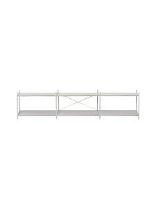 Ferm Living - Punctual Shelving System -hylly 300 x 200 cm - GREY | Stockmann