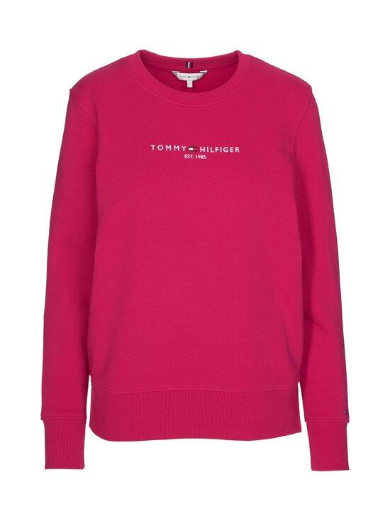 Tommy Hilfiger - Essential Pure Cotton Sweatshirt -collegepaita - T1D RUBY JEWEL   Stockmann - photo 1