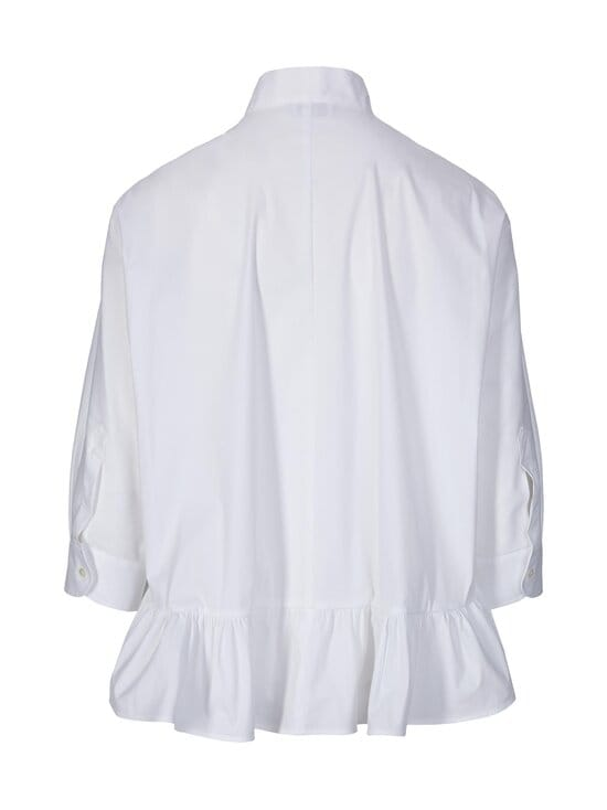 RED Valentino - Shirt W Frill -pusero - 001 WHITE | Stockmann - photo 2
